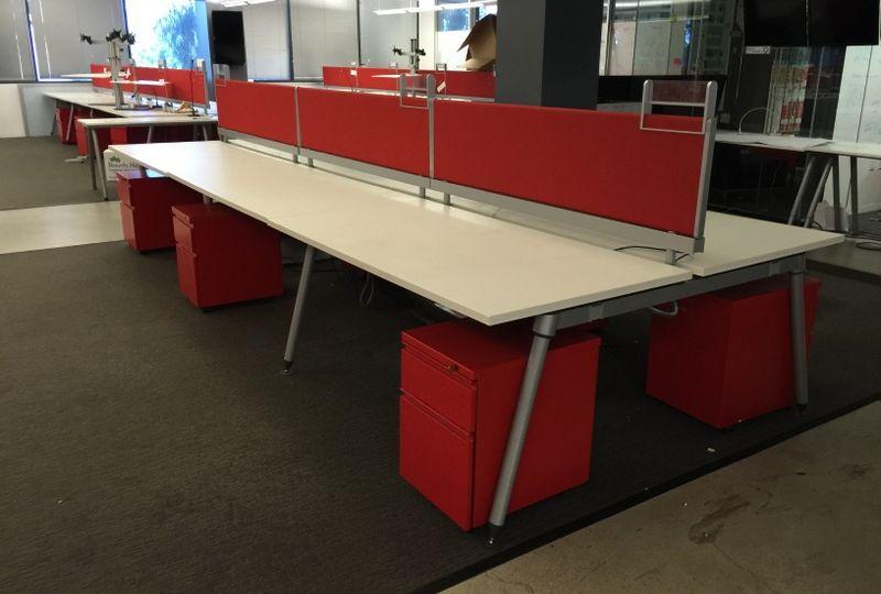 Herman Miller Sense Benching Desks