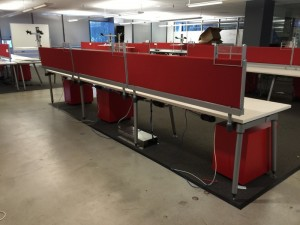 Herman Miller Sense Benching Desks