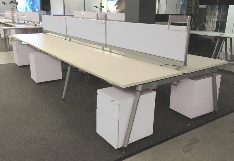 Used Herman Miller Sense Benching Desks