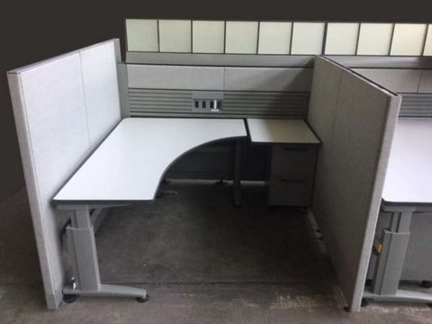 Used Knoll Currents Morrison WorkStations