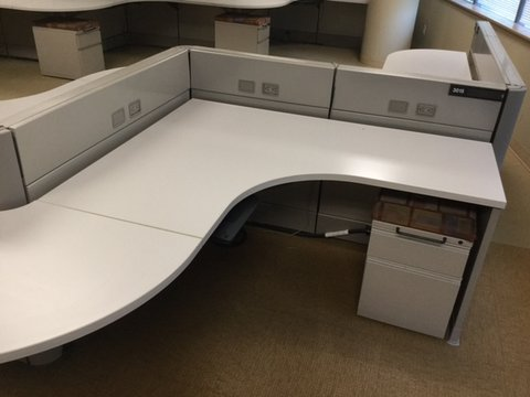 Used Herman Miller Ethospace workstations